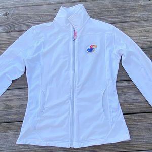 Kansas Jayhawks Woman's Levelwear Full zip Jacket